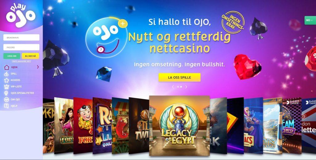 OJO Casino logo